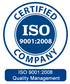 Indicsoft-ISO-9001-2008-Certified وال مانیتور