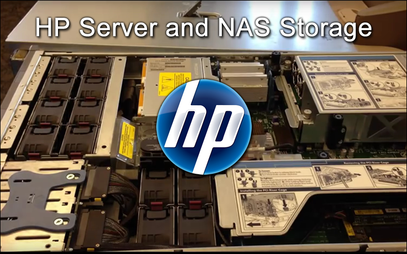HP-Blade-Server datacenter